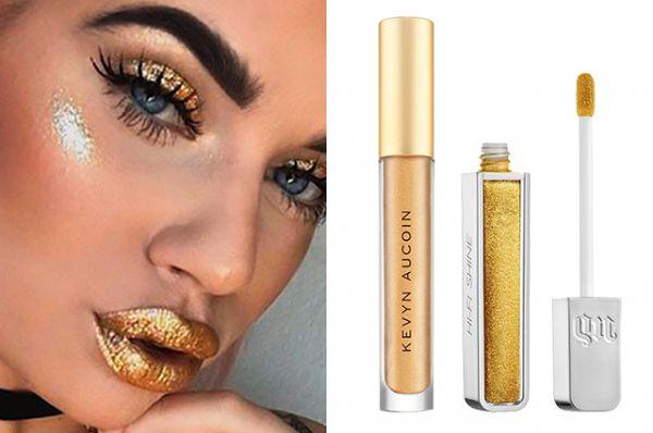 Photo of Золотые вы наши: с чем сочетать модные металлические блески для губ